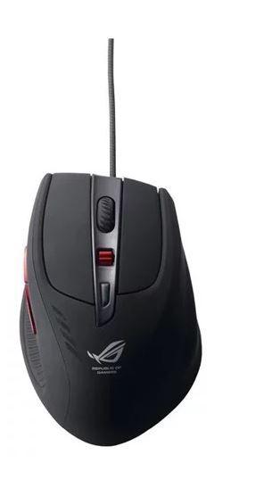 Мышь ASUS GX950 лазерная проводная USB, черный [90-xb3l00mu00000]