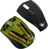Мышь HAMA H-53874 Pequento оптическая беспроводная USB, черный и зеленый [00053874] вид 4