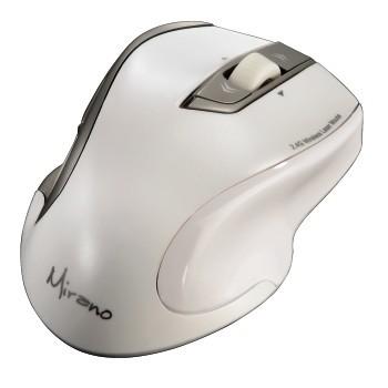 Мышь HAMA H-53878 лазерная беспроводная USB, белый [00053878]