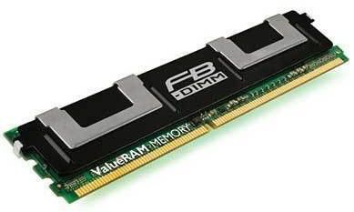 Память DDR2 2Gb 667Mhz Kingston ECC Fully Buffered CL5 DIMM Dual Rank, x8 (KVR667D2D8F5/2G)