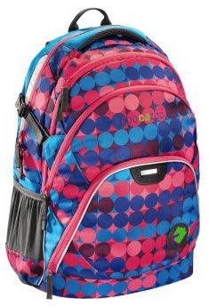 Рюкзак Coocazoo H-119795  EvverClevver отделение для ноутбука полиэстер CheckMint синий/розовый