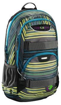 Рюкзак Coocazoo H-119808  Rayday отделение для ноутбука вес 0.77 кг полиэстер голубой/желтый