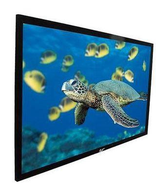 Экран ELITE SCREENS ezFrame R120WH1,  277.8х161 см, 16:9,  настенно-потолочный черный