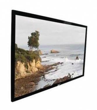 Экран ELITE SCREENS ezFrame R135WH1,  299х168.1 см, 16:9,  настенно-потолочный черный