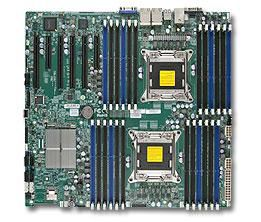 Серверная материнская плата SUPERMICRO MBD-X9DRI-LN4F+-B,  bulk