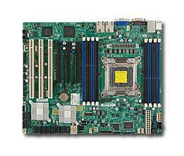 Серверная материнская плата SUPERMICRO MBD-X9SRE-F-B,  bulk