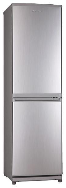 Холодильник SHIVAKI SHRF 170 DS,  двухкамерный,  серебристый [shrf-170ds]