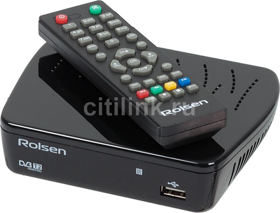 Ресивер DVB-T2 ROLSEN RDB-514,  черный [1-rldb-rdb-514]