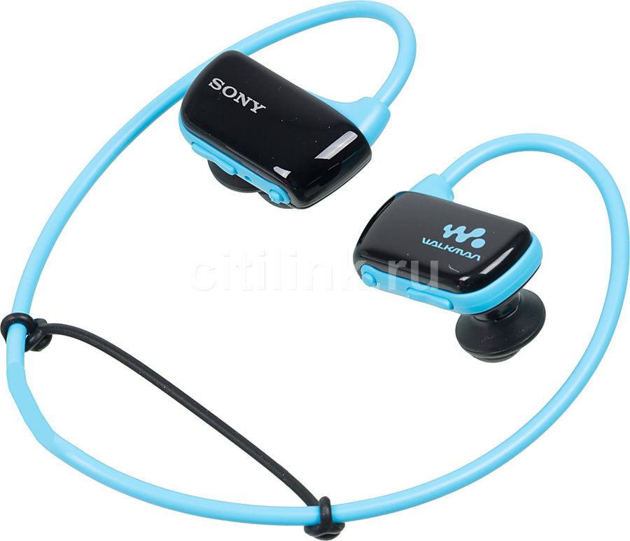 MP3 плеер SONY NWZ-W273 flash 4Гб голубой [nwzw273sl.ee]