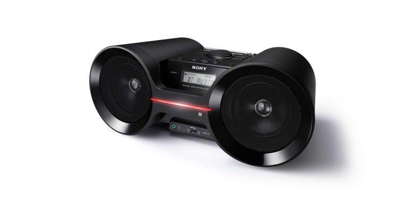 Аудиомагнитола SONY ZS-BTY52,  черный