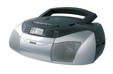 Аудиомагнитола MYSTERY BM-6301,  серый