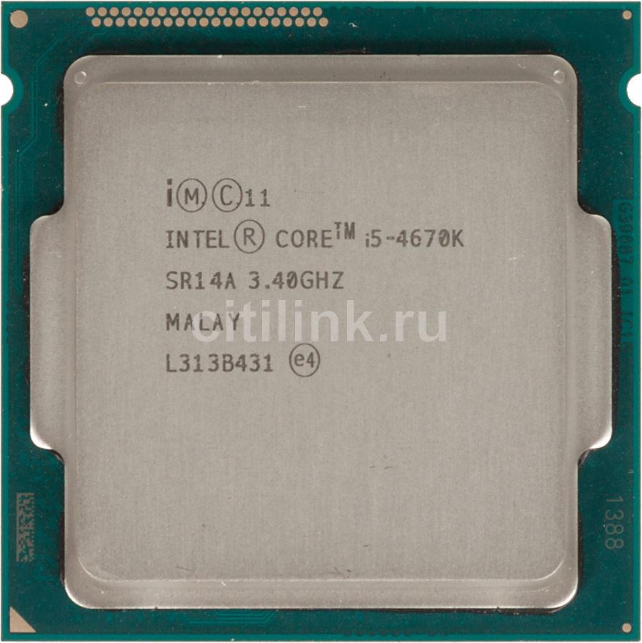 Процессор INTEL Core i5 4670K, LGA 1150 OEM