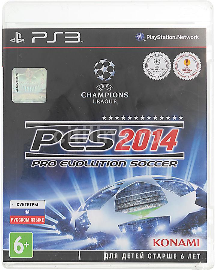 Игра SOFT CLUB Pro Evolution Soccer 2014 для  PlayStation3 Eng