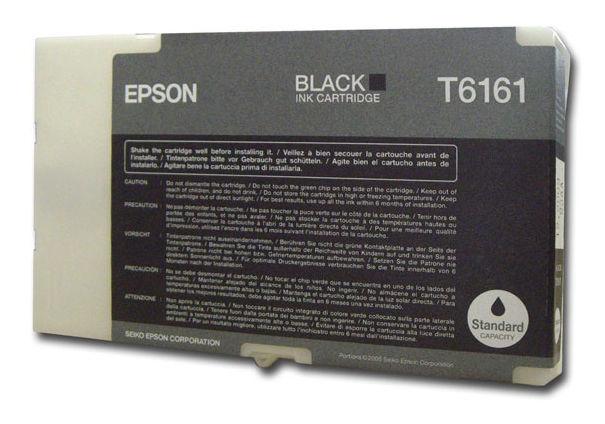 Картридж EPSON черный [c13t616100]