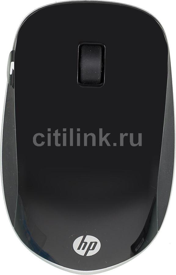 Мышь HP Z4000 оптическая беспроводная USB, черный и серебристый [h5n61aa]
