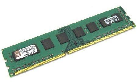 Модуль памяти KINGSTON VALUERAM CL7 KVR1066D3N7/1G DDR3 -  1Гб 1066, DIMM,  Ret