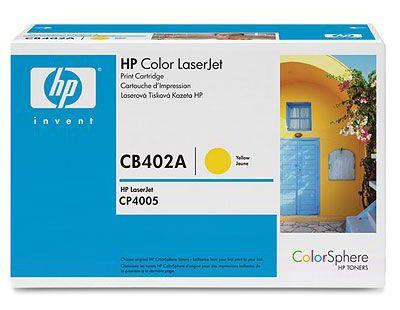 Картридж HP 642A желтый [cb402a]