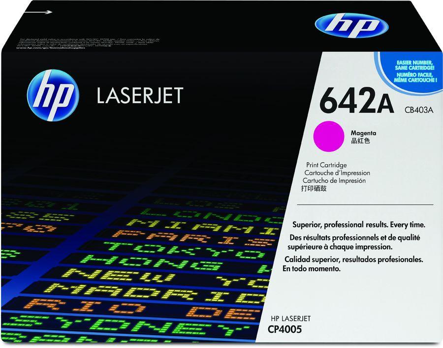 Картридж HP 642A пурпурный [cb403a]