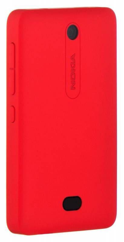 Чехол (клип-кейс) NOKIA CC-3070, для Nokia Asha 501, красный [cc-3070 красный]