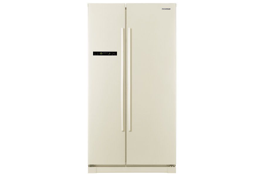 Холодильник SAMSUNG RSA1SHVB1,  двухкамерный,  бежевый [rsa1shvb1/bwt]