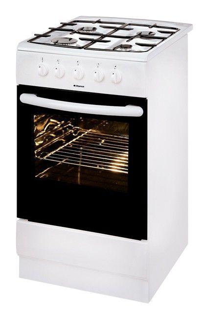 Газовая плита HANSA FCGW50000017,  газовая духовка,  белый