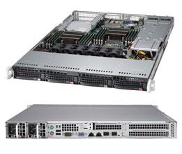"Платформа SuperMicro SYS-6017R-72RFTP 3.5"" LSI2208 10G 2P+1G 2P 2x750W"