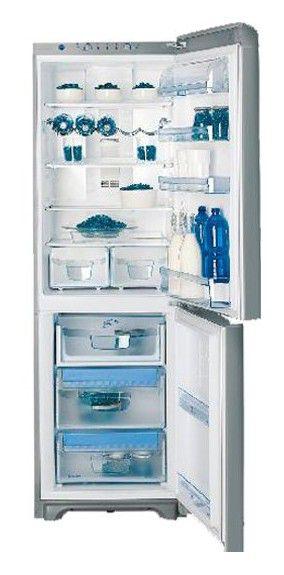 Холодильник INDESIT PBAA 337 F X,  двухкамерный,  нержавеющая сталь [pbaa 337 f x(ru)]