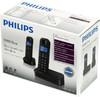 Радиотелефон PHILIPS D1502B/51,  черный вид 10