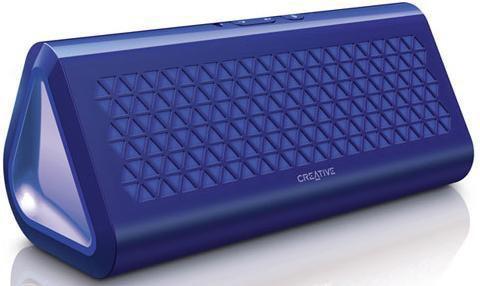Колонки Creative Airwave 1.0 голубой 8Вт беспроводные BT [51mf8160aa002]