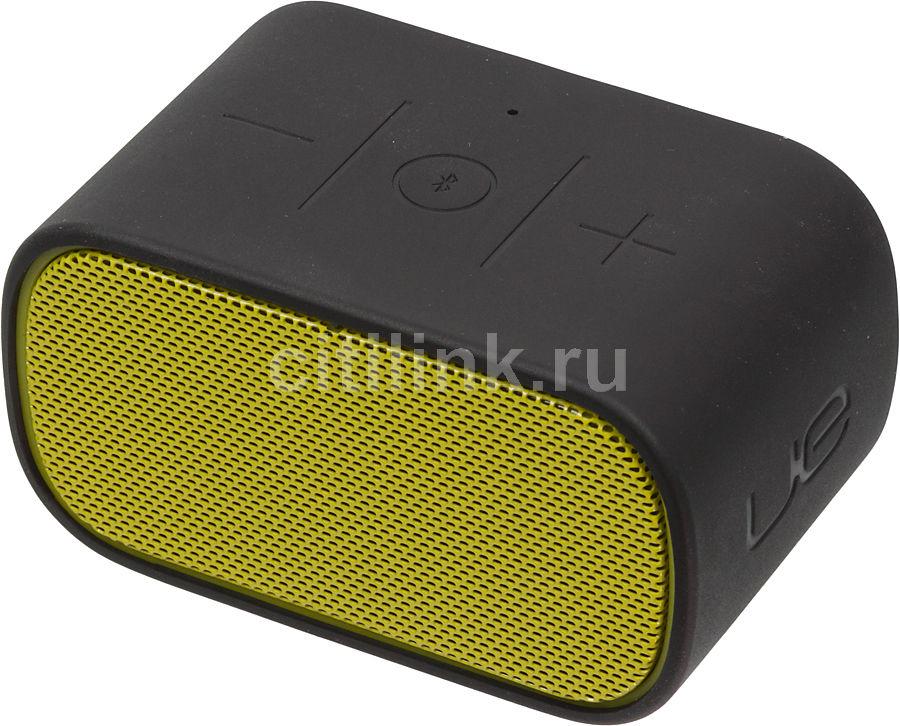 Портативные колонки LOGITECH UE Mobile Boombox,  черный,  желтый [984-000258]