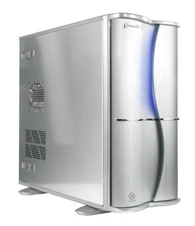 Корпус ATX THERMALTAKE Soprano DX VE7400SNAE, 400Вт,  серебристый