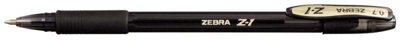 Ручка шариковая Zebra Z-1 COLOUR (C-BA26-ZA-BK) 0.7мм черный