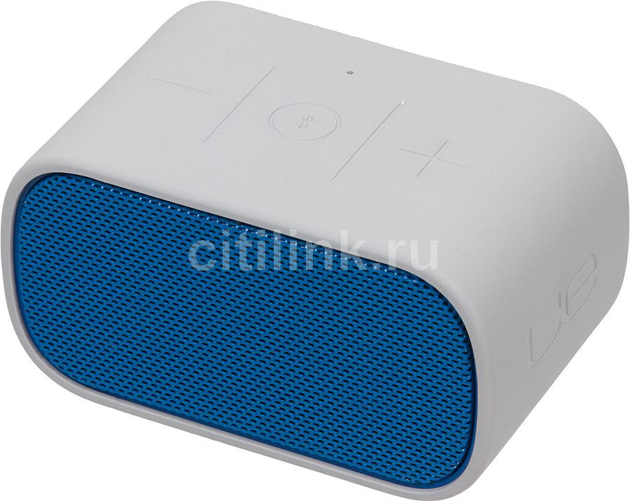 Портативные колонки LOGITECH UE Mobile Boombox,  синий,  серый [984-000240]
