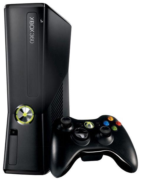 Игровая консоль MICROSOFT Xbox 360 N7V-00023, черный