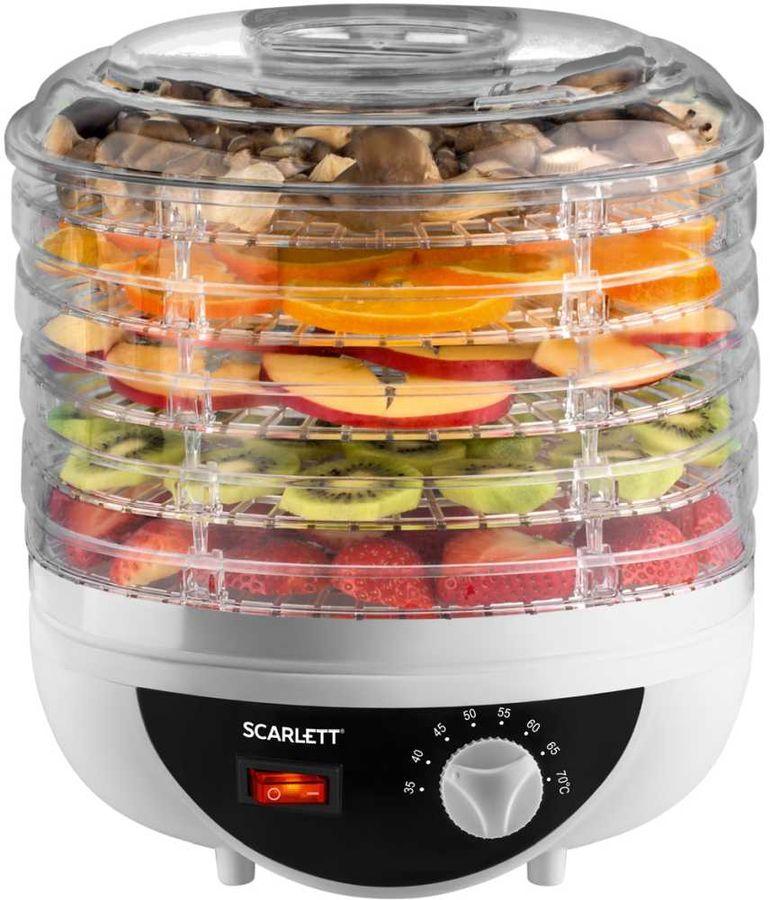 Сушка SCARLETT SC-421 для фруктов и овощей,  белый