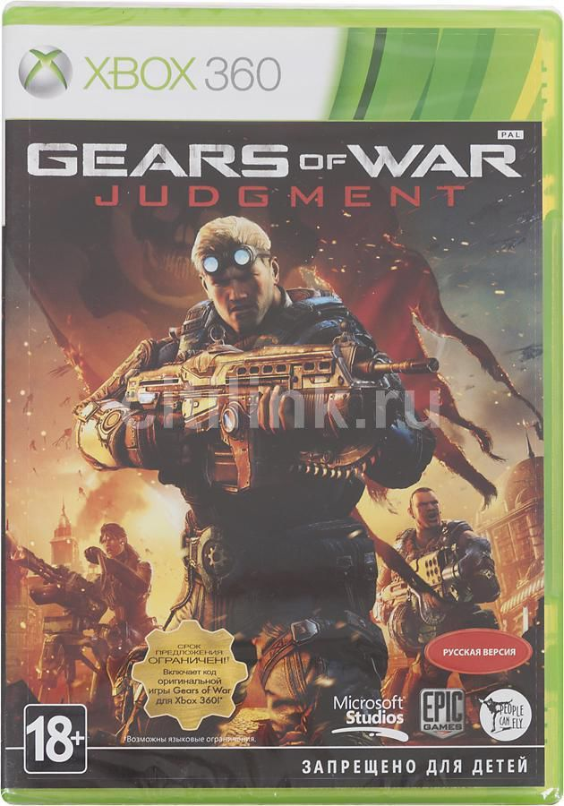 Игра MICROSOFT Gears of War Judgment для  Xbox360 Eng