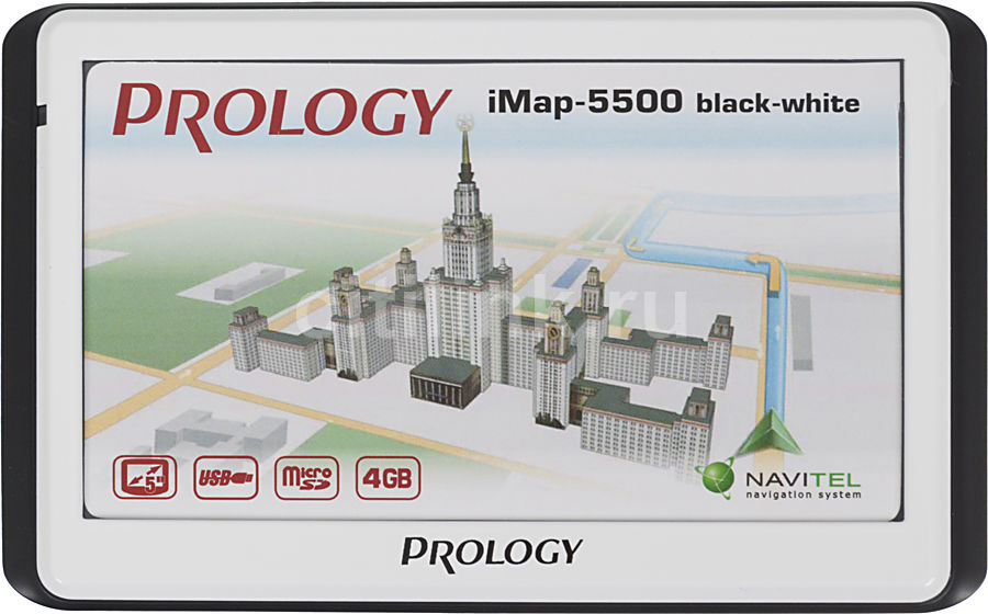 GPS навигатор PROLOGY iMAP-5500,  5