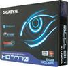 Видеокарта GIGABYTE Radeon HD 7770,  2Гб, GDDR5, OC,  Ret [gv-r777oc-2gi] вид 7
