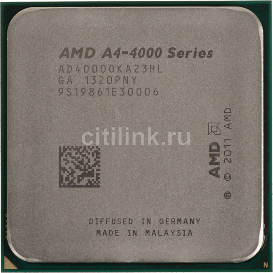 Процессор AMD A4 4000, SocketFM2 OEM [ad4000oka23hl] процессор amd a4 4000 ad4000okhlbox socket fm2 box