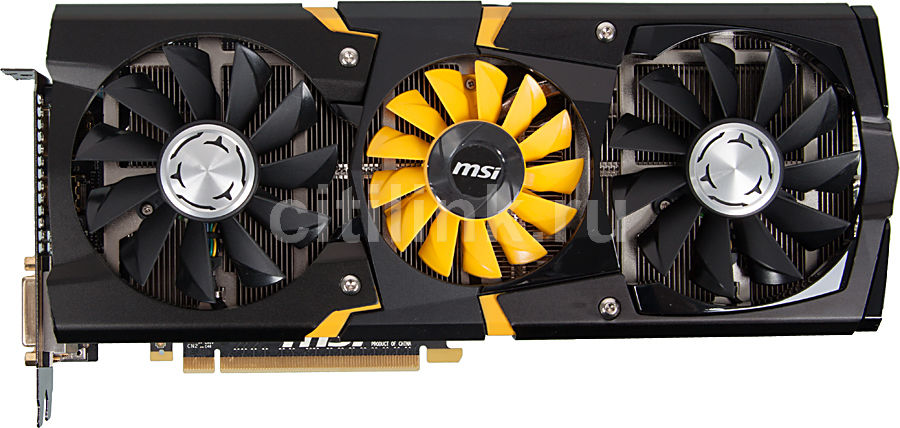Видеокарта MSI GeForce GTX 780,  N780 LIGHTNING,  3Гб, GDDR5, OC,  Ret