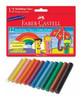 Пластилин Faber-Castell 12000312цв. картон.кор.