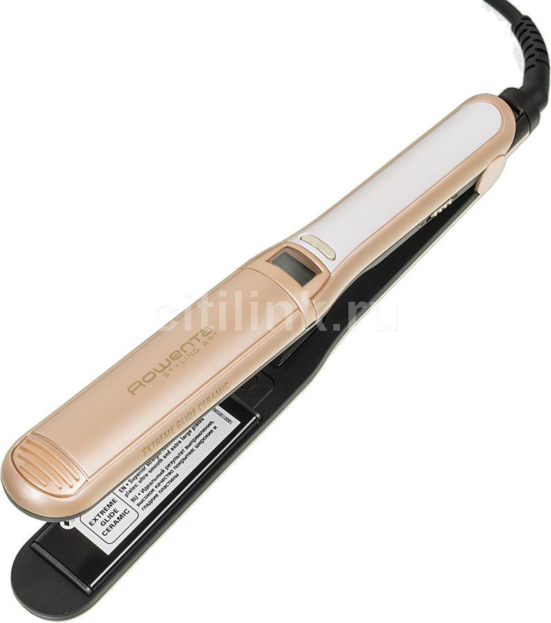 Выпрямитель для волос ROWENTA Styling Art CF7196,  бежевый [1830004873]