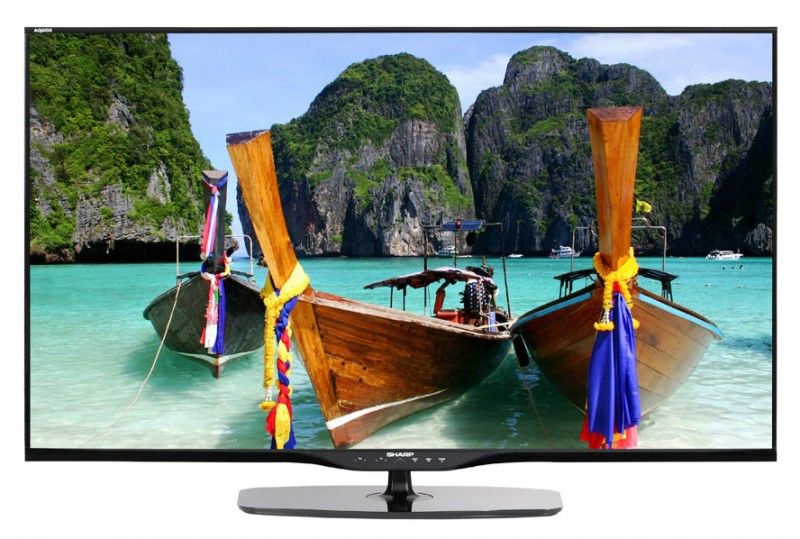 "LED телевизор SHARP Aquos LC-50LE651RU  50"", 3D,  FULL HD (1080p),  черный"