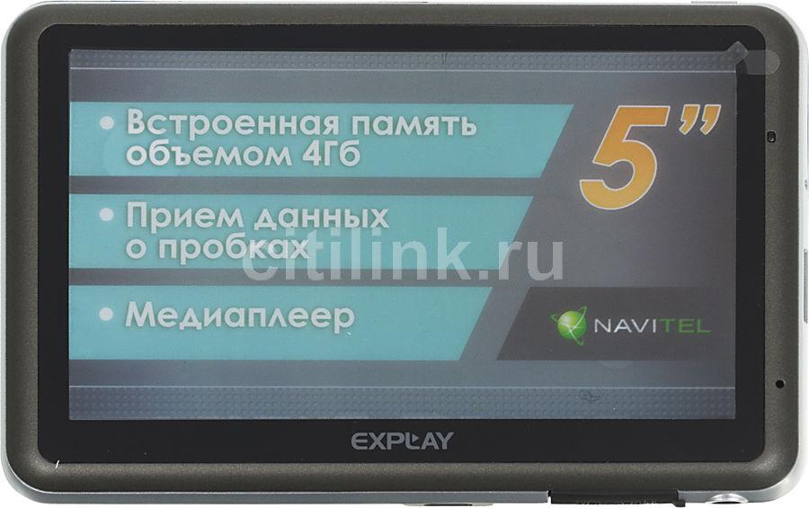 GPS навигатор EXPLAY GTR5,  5
