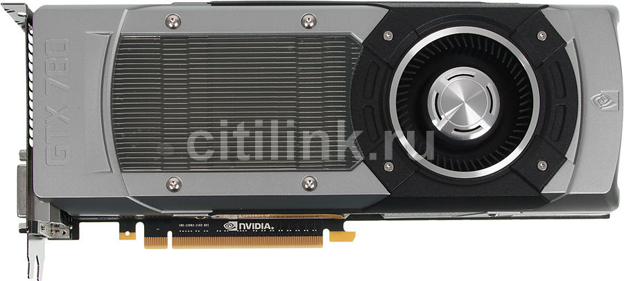 Видеокарта ZOTAC GeForce GTX 780,  ZT-70202-10P,  3Гб, GDDR5, Ret