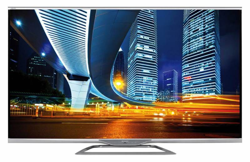 "LED телевизор SHARP Aquos LC60LE751RU  ""R"", 60"", FULL HD (1080p),  серебристый"