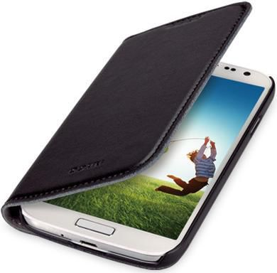 Чехол (флип-кейс) GGMM Kiss-S4, для Samsung Galaxy S4, черный [sx02101]
