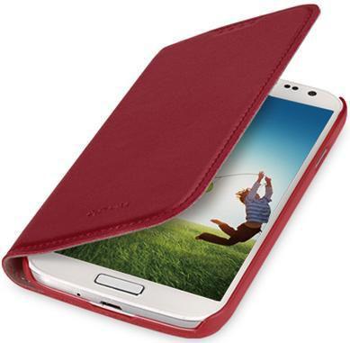 Чехол (флип-кейс) GGMM Kiss-S4, для Samsung Galaxy S4, красный [sx02103]