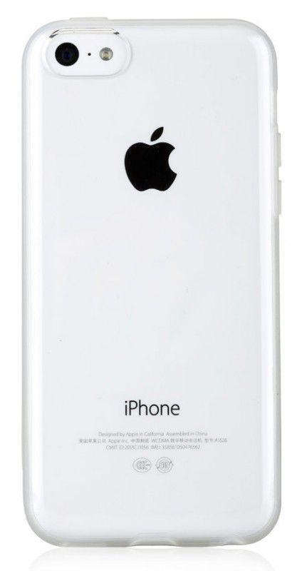 Чехол (клип-кейс) GGMM iFreedom-5C, для Apple iPhone 5c, белый [ipc00602]