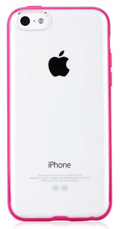 Чехол (клип-кейс) GGMM iFreedom-5C, для Apple iPhone 5c, розовый [ipc00603]